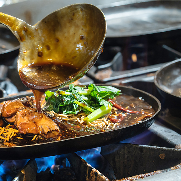 CK Sizzling Hot Plate